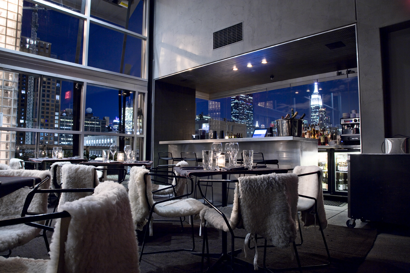 Hotel americano top shelf electric for Bar americano nyc
